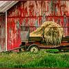 The Hay Wagon - Marie Rakoczy