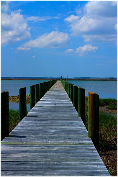 A Long Pier - Tom Mulick