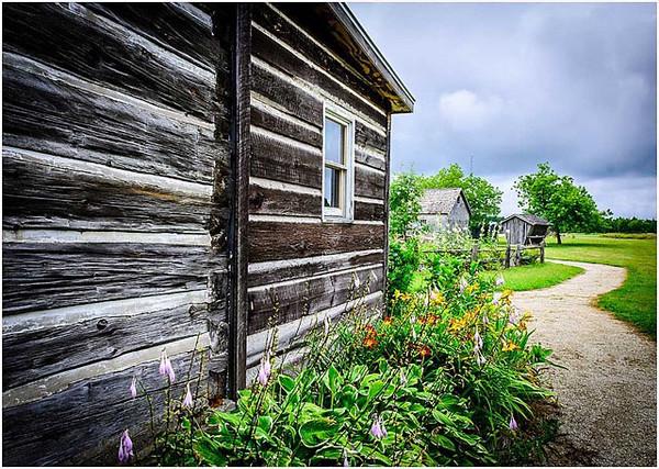 Log Cabin - Mary Doody