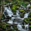 Smokey Mountain Waterfall - Marie Rakoczy