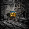 Thurmond, WV Ghost town, CSX rails