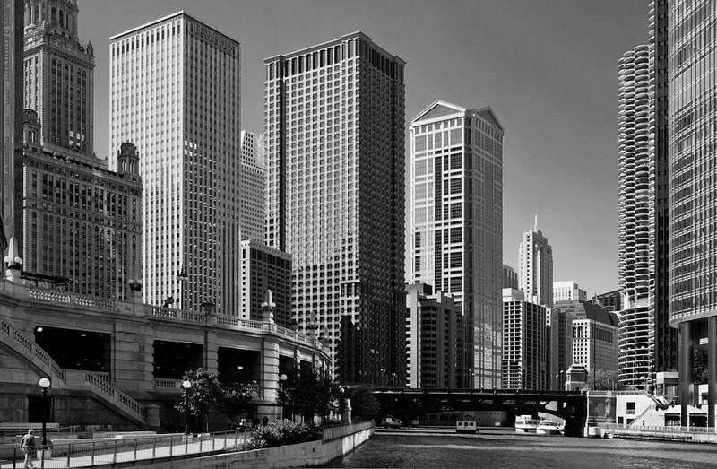 Geometric Chicago - Nora Liu<br /> Print of the Month - November 2012
