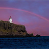 Rainbow Over Nova Scotia Lighthouse - Tom Mulick<br /> DPI of the Month - October 2013