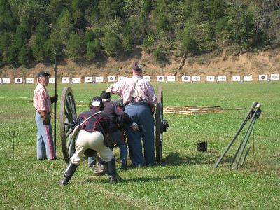 Winslow's Battery, at Fort Shenandoah, Fall Nationals, 2008. Photo by Rachel Mackintosh.