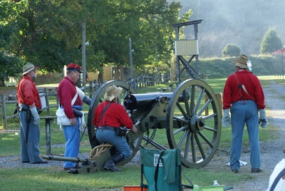 Dixie Artillery during Fall Nationals, 2007. Photo by Allissa Weber