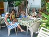 Enjoying the pool area at Key West Harbor Inn