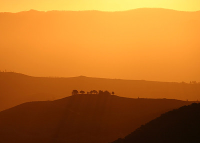 Mt Ainslie sunset