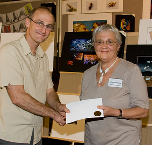 Dawn Zandstra received 3rd prize and a merit