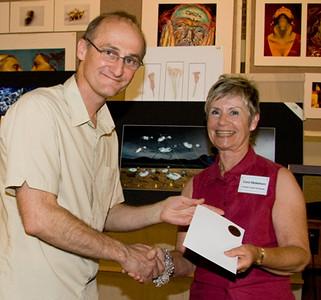 Carol Makeham received 2nd prize