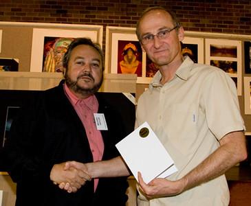 Michael Haylen received a Merit