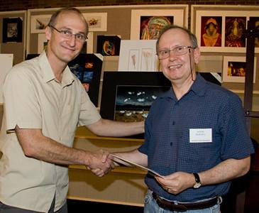John Bardell received a Merit