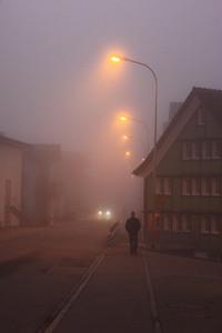 Walker in the Mist