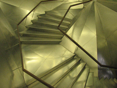 Caixa stairs