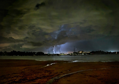 Kissing Point storm