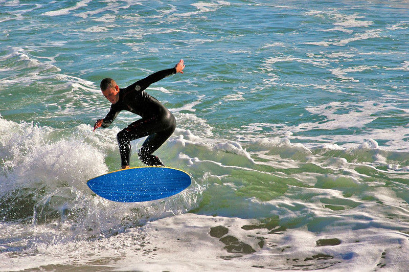 Stop Action-Class B-Kathy Green-Surfin' the Waves