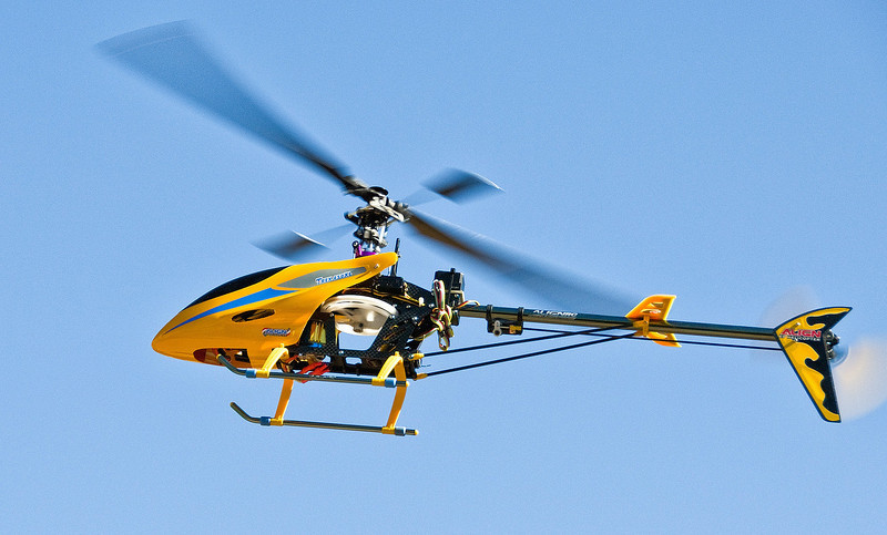 Stop Action-Class A-Bill Matthews-RC Helicopter