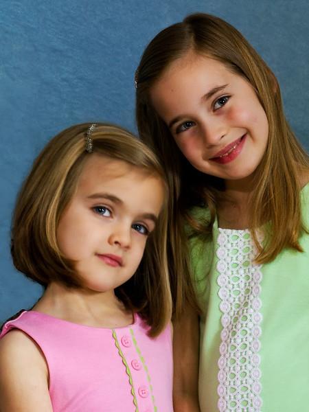 Portrait-Class A-Jim Davis-Two Sisters