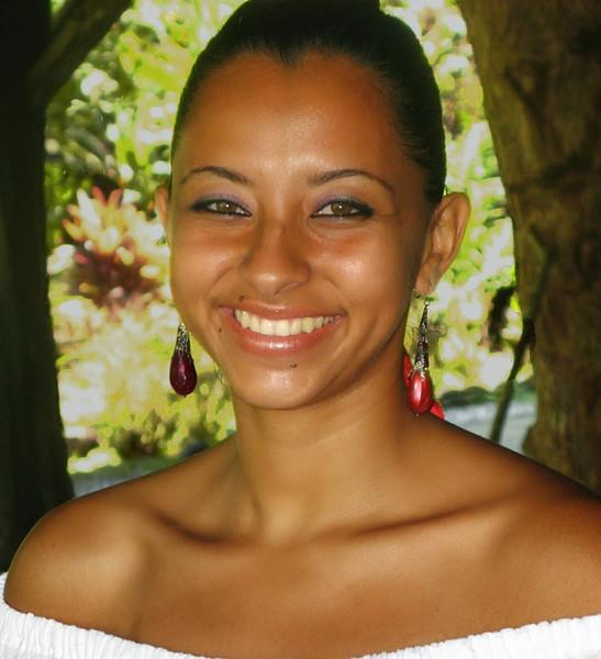 Portrait-Class B-Carole Barnard-Costa Rican Beauty