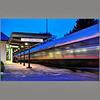 Transportation-Class A-1st-Len Barnard-Amtrak Arrival