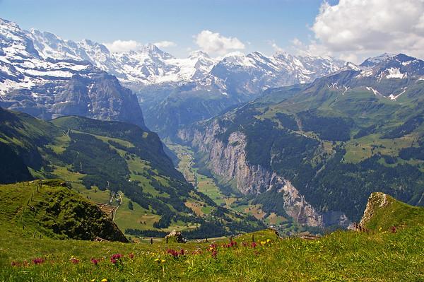 "First place - ""Lauterbrunnen Valley"" by Christine Matthews"