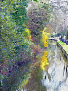 Sue Fifer1 Impressions of Enfield - New River Loop