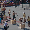Men Finalists On the Box Jump