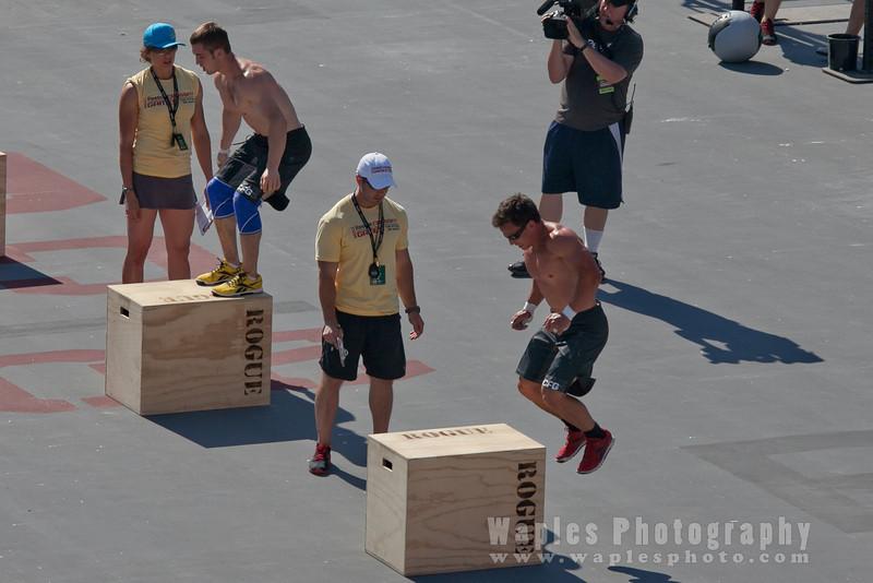 Ben Smith & Joshua Bridges on the Box Jumps