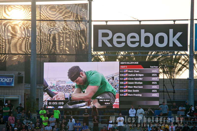 Rich Froning, Jr. on the Jumbotron
