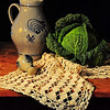 Still Life - Class A - Kathy Green - German Pottery and Savoy