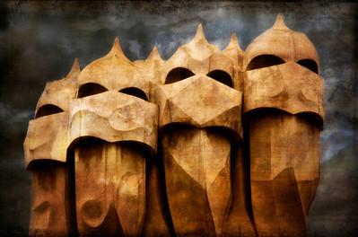 Steven Harrison - Gaudi chimneys