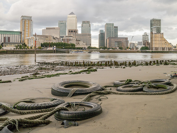 Low tide at Docklands - Kevin O'Neill