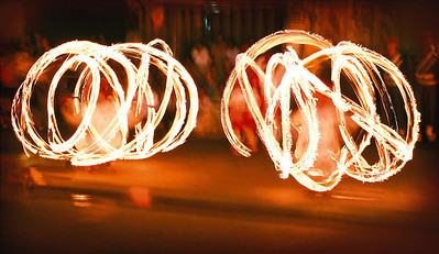 Fire spinners