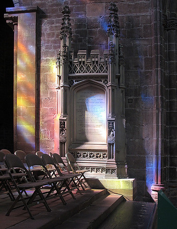 Eileen Light in Chester Cathedral