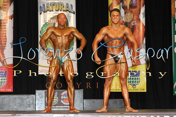 2012 INBA Natural Olympia Friday Pre-Judging in Reno, NV