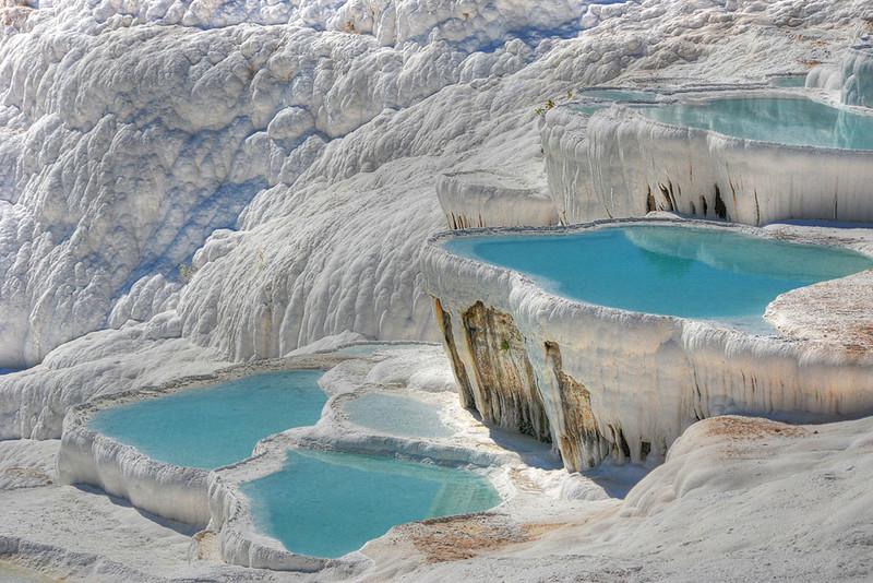 Limestone Terraces of Pamukale