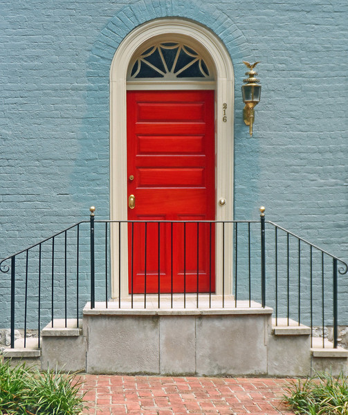 Doors&Windows-Class B-Anne Stagg-Red Door
