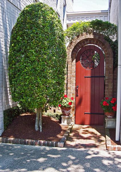 Doors&Windows-Class B-Bonnie Hanly-Southern Pines Doorway