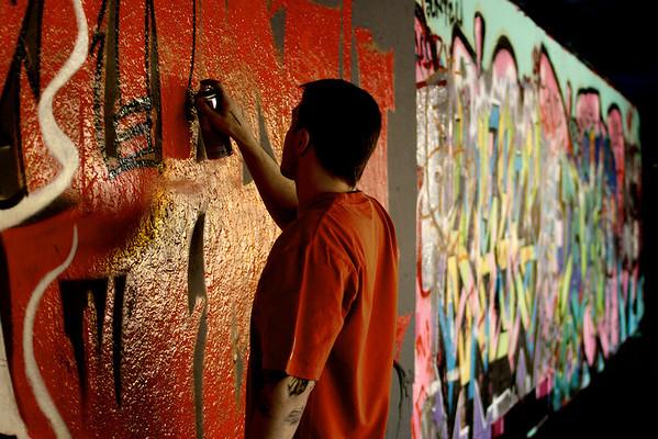 Damian Southbank Graffiti 2