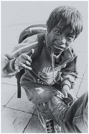 Rob K Shoeshine Boy Cusco jpg