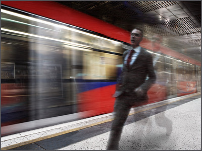 Darren Cottrell - To catch a train