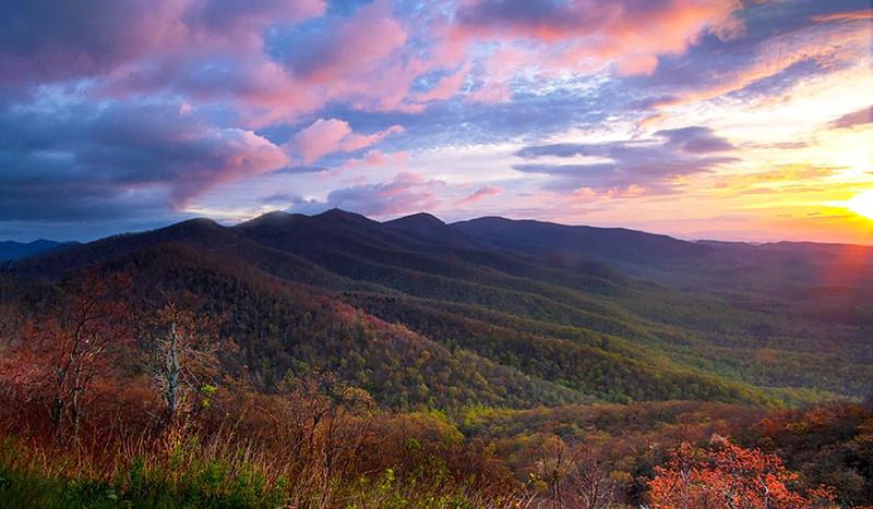 Open-Class A-Jim Davis-Mountain Sunrise