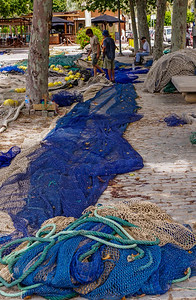 Kath Pieri - Fishing Nets Palma