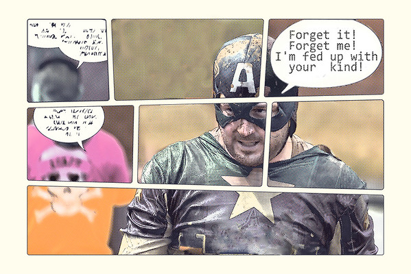 Steve Harrison - Even superheroes have off days