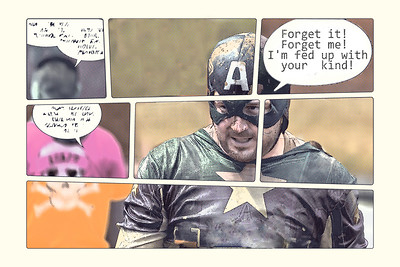 Steve Harrison - Even superheroes have off days