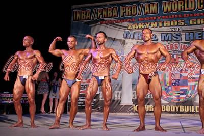 2013 INBA World - Bodybuilding Open Men Classes