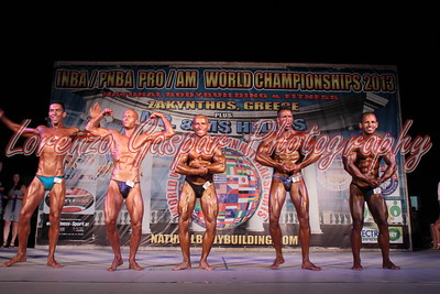 2013 INBA World - Bodybuilding Novice Men Classes