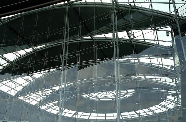 Neil Macindoe  Atrium light - Norwich Library