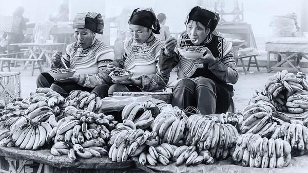 RobertK Lunchtime on the banana stall