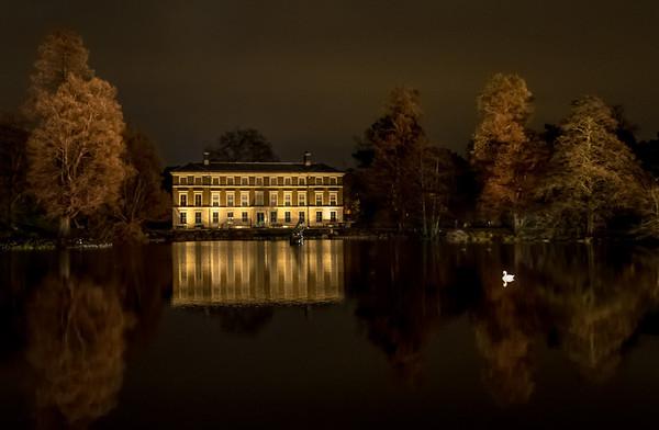 Clive Wade Kew Gardens at night