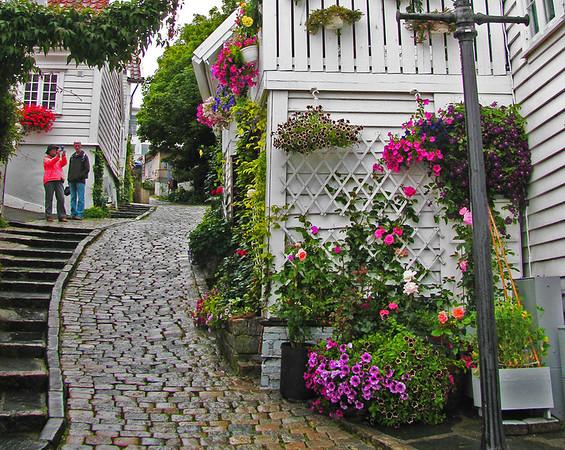 Jackie A Norwegian side street